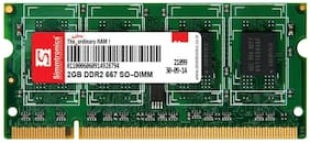 Simmtronics 2 gb Ddr2 RAM for Laptop