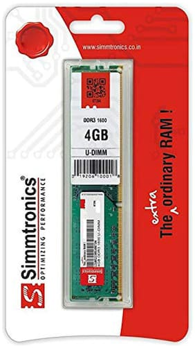 Simmtronics 4 gb Ddr3 RAM for Pc