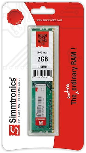 Simmtronics 2 gb Ddr3 RAM for Pc