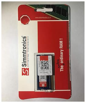Simmtronics 2 gb Ddr3 RAM for Laptop