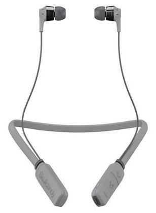 Skullcandy S2IKW-K610 Inkd Wireless Bluetooth Headset With Mic (Street/Grey/ Chrome)