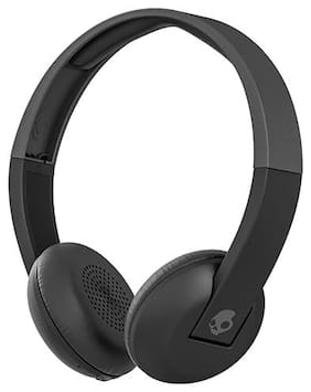 Skullcandy S5URHW-509 On Ear Headphone (Black)