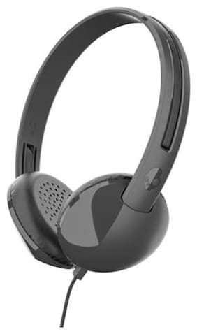 Skullcandy S2LHY K576 STIM On Ear Headset with Mic  Black/Charcoal