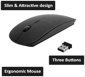 Snehi Wireless Mouse ( Black )