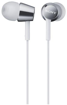 Sony MDR-EX150 Wired In Ear Earphone (White)