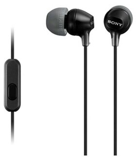 Sony MDR-EX15AP Wired In Ear Earphone (Black)