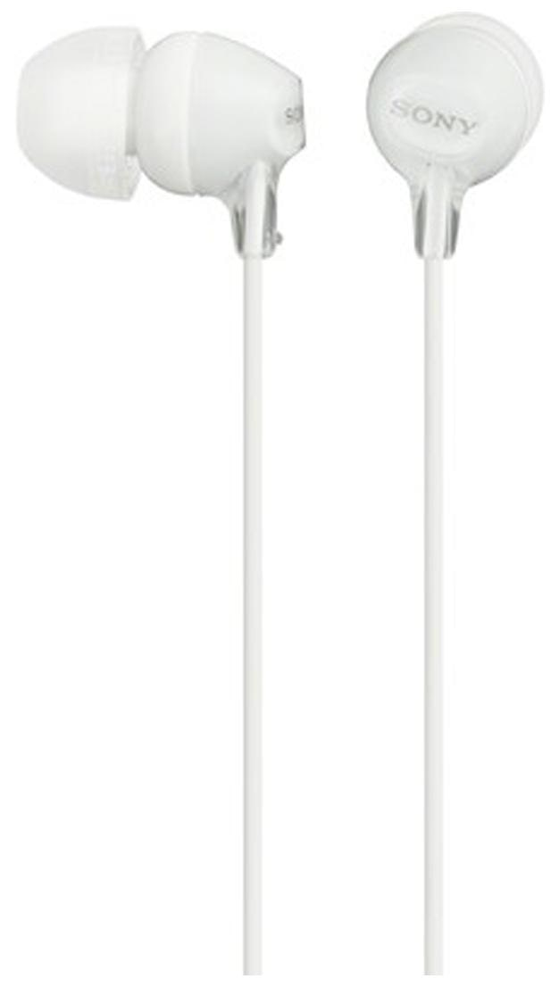 Sony MDR-EX15LP Wired In Ear Earphone (White)