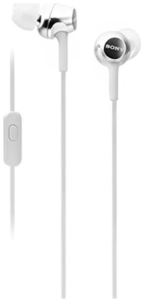 Sony MDR-EX155AP In-Ear Wired Headphone ( White )