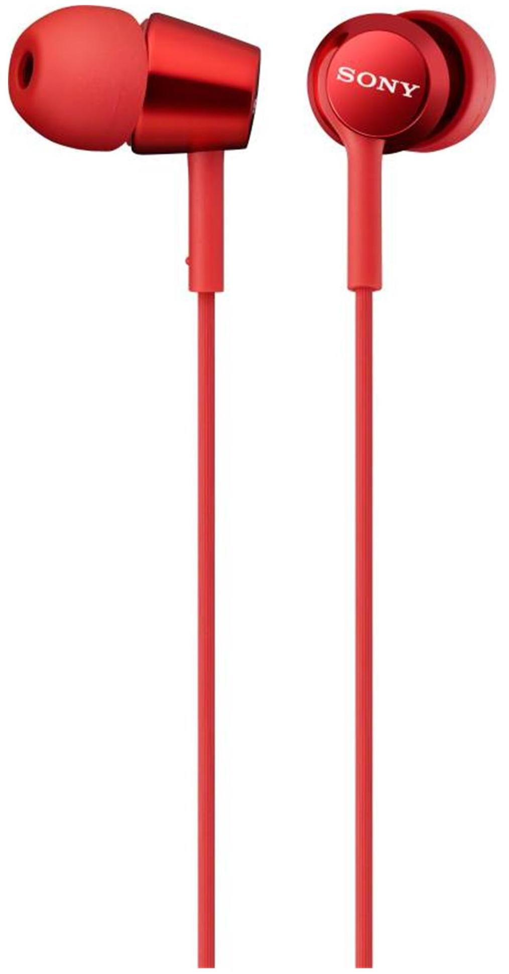Sony MDR-EX150 In Ear Earphone (Red)