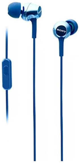 Sony Mdr-ex255ap In-ear Wired Headphone ( Blue )