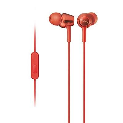 Sony MDR-EX255AP In Ear (Headphone) Red