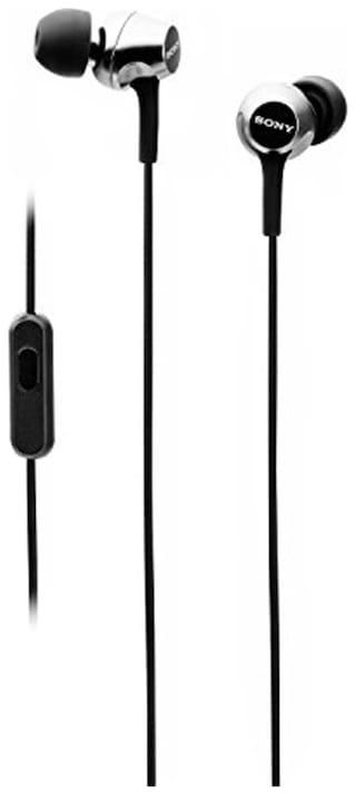 Sony MDR-EX255AP In-Ear Wired Headphone ( Black )