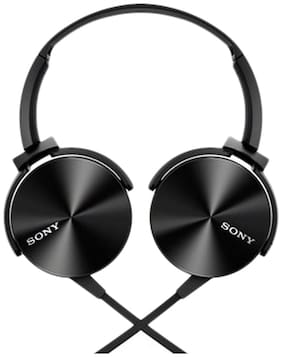 Sony MDR-XB450AP On-Ear Wired Headphone ( Black )