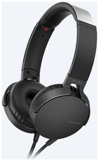 Sony MDR-XB550AP On-Ear Wired Headphone ( Black )
