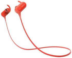 Sony MDR-XB50BS In-Ear Wired Headphone ( Red )