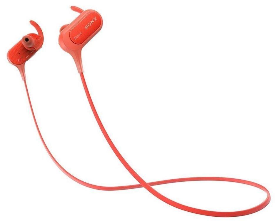 Sony MDR-XB50BS In-Ear Earphones (Red)
