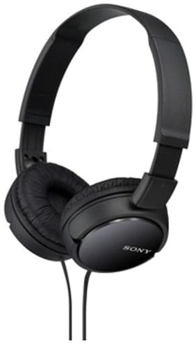 Sony MDR-ZX110 On-Ear Wired Headphone ( Black )