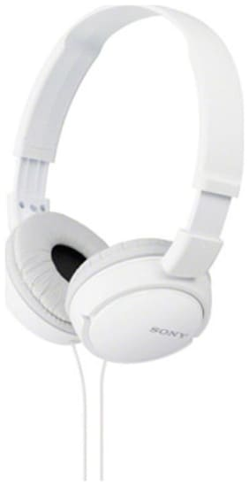 Sony MDR-ZX110AP On-Ear Wired Headphone ( White )
