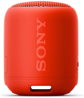Sony SRS-XB12 Portable Bluetooth & Wired Speaker ( Red )