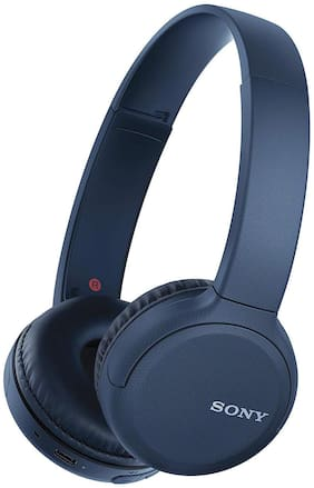 Sony WH-CH510 On-ear Bluetooth Headsets ( Blue )