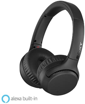 Sony WH-XB700 WH-XB700 Over-Ear Bluetooth Headset ( Black )