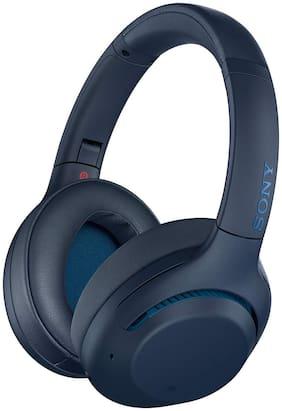 Sony WH-XB900N Over-Ear Bluetooth Headset ( Blue )