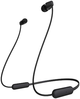 Sony WI-C200/BC In-Ear Bluetooth Headset ( Black )