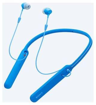 Sony WI-C400 In-Ear Bluetooth Headset ( Blue )