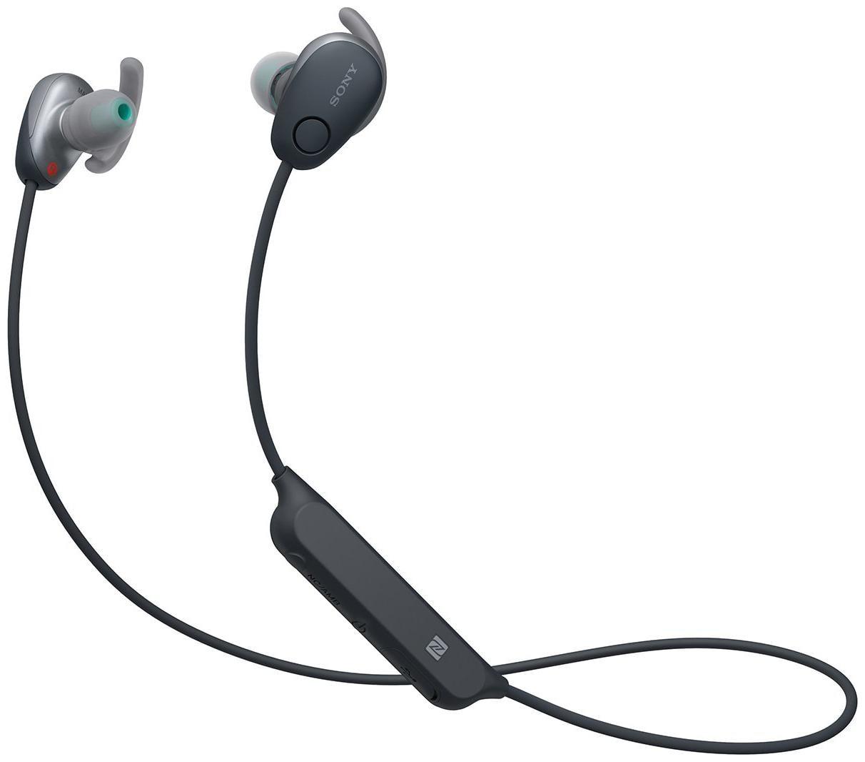 Sony WI-SP600N In-Ear Bluetooth Headset (Black)
