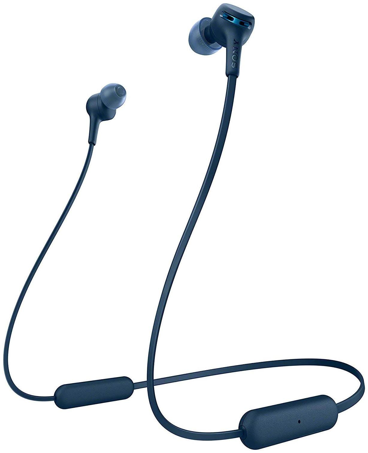 Sony WI-XB400 In-Ear Extra Bass Wireless Neck-Band Headphones (Blue)