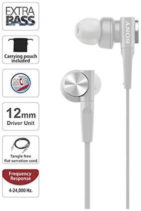 Sony In-Ear Wired Headphone ( White )