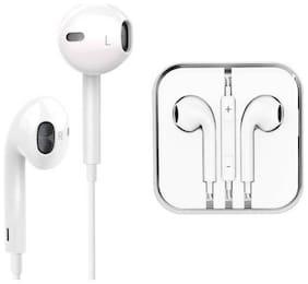 SOOPII Premium Earphones/Earbuds/Headphones with Stereo Mic&Remote Control In-Ear Wired Headphone ( White )