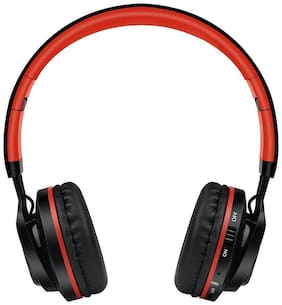 Sound One BT-06 On-ear Bluetooth Headsets ( Red )