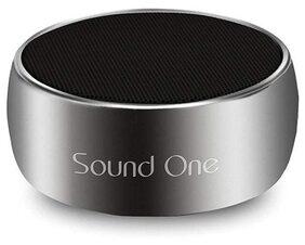 Sound One Rock Portable Bluetooth Speaker ( Silver )