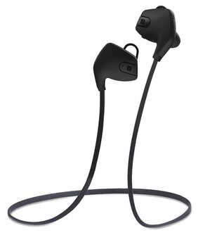 SoundBot SB565-BLK/BLK Stereo Bluetooth 4.0 Wireless Headset (Black)