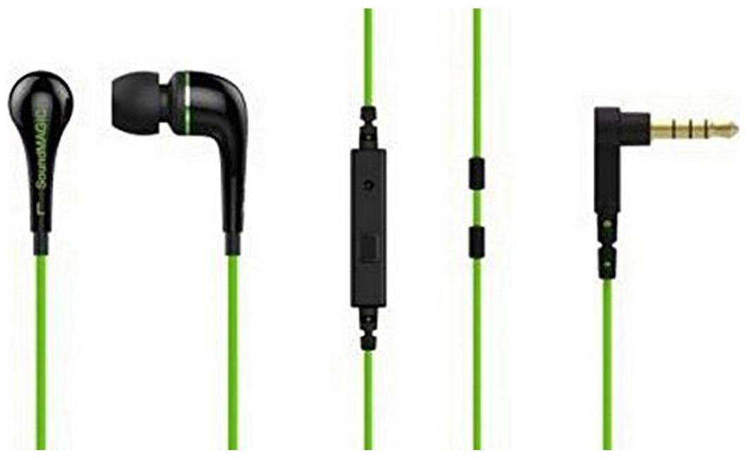 SoundMAGIC ES11S In Ear Wired Headphone   Green   by D E E Horizon