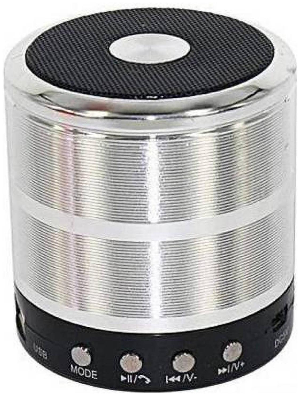 Speeqo W877 SPEAKER Bluetooth Portable speaker   Silver