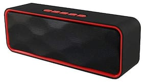 Spirili MHT1445 Lb56 sc-211 Bluetooth Portable speaker ( Red & Black )
