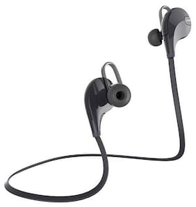 BUDDIES CART SPORTS Bluetooth Jogger Headset Wireless 4.0 Hands-free Stereo Headphone for ALL Smartphones In-Ear Bluetooth Headset ( Assorted )