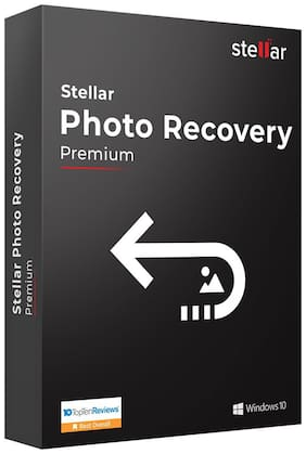Stellar Photo Recovery Software|Windows|Premium|Recover Deleted Photos|CD