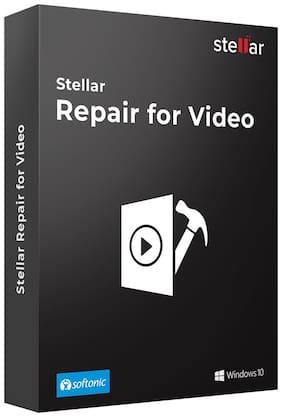Stellar Repair for Video Software|Windows|Standard|Repair Corrupt Video|CD