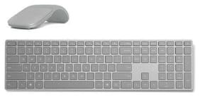 Surface Keyboard+Platinum Surface Arc Touch Mouse - Gray Surface Keyboard includ