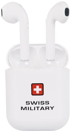 Swiss Military HPH-4 True Wireless Bluetooth Headset ( White )