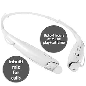 TAG HBS-730 In-Ear Bluetooth Headset ( White )