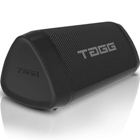 TAGG Sonic Angle 1 IPX5 Water Resistant Portable Bluetooth 2 x 5W Speakers with Mic, 3.5mm AUX Support and Supports Google Assistant/SIRI