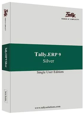 Tally ERP 9 Silver Single User