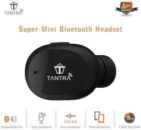 Tantra Air-5586 Over-Ear Bluetooth Headset ( Black )