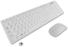 Tech Gear Multimedia 2.4G Wireless Keyboard With Optical Mouse USB Dongle Combo Set