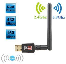 Tech Gear 600 mbps Wireless USB Adapter (Black)