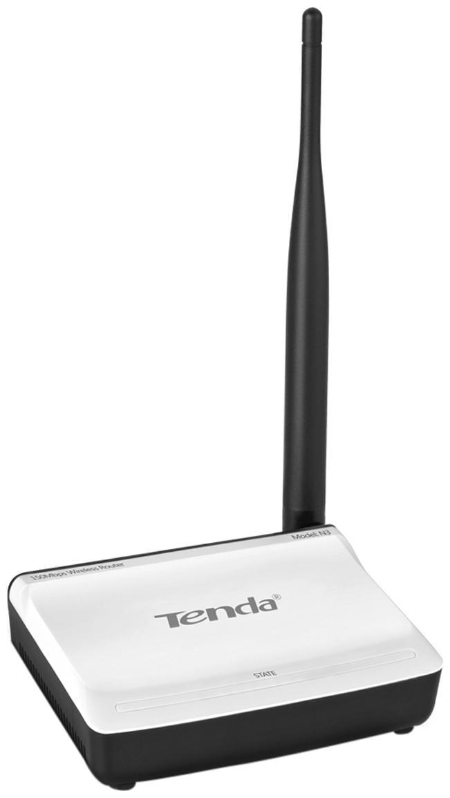 Tenda 150 MBPS Wireless Home Router TE N3  White